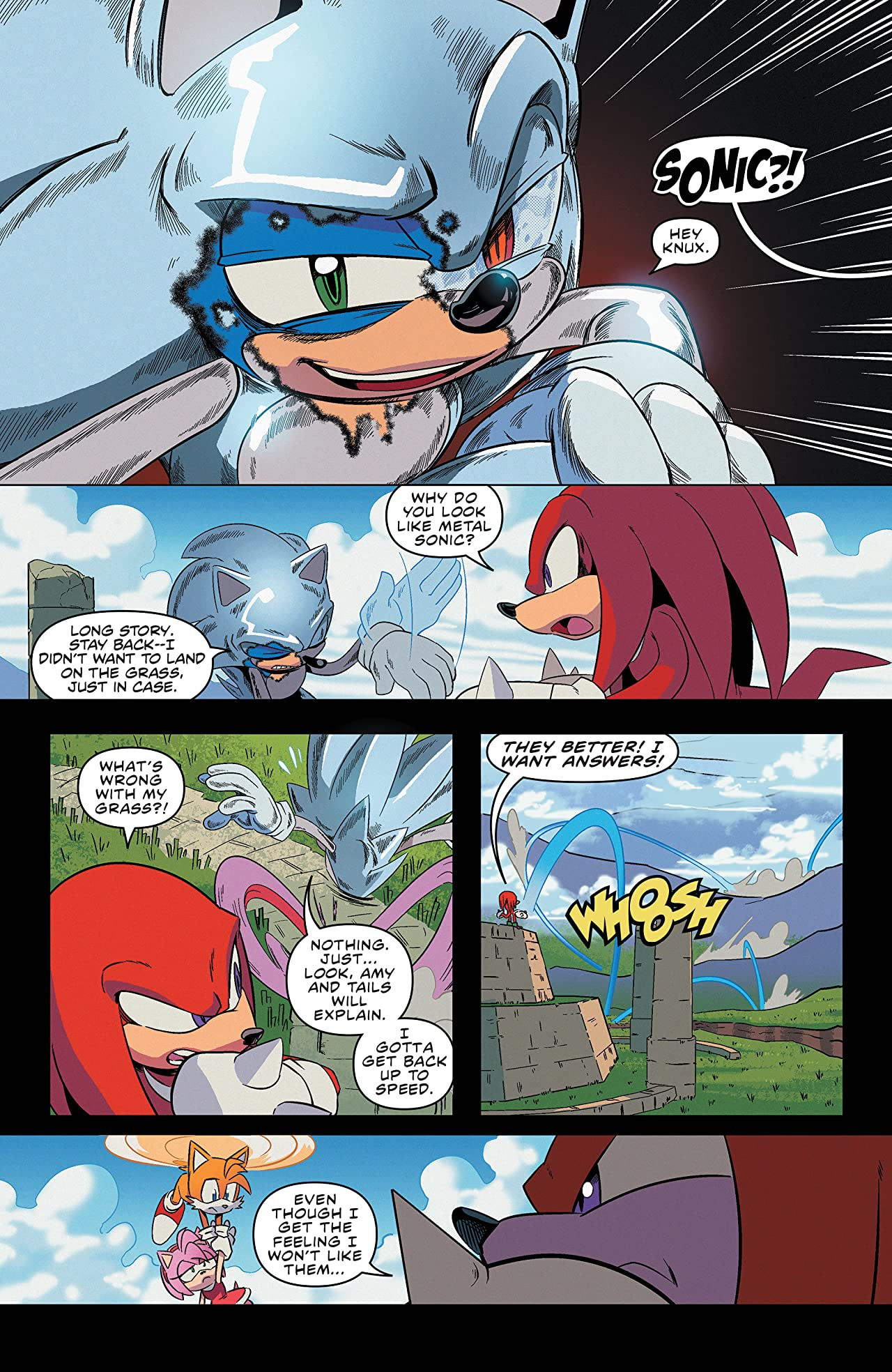 Sonic the Hedgehog Vol. 7: All or Nothing