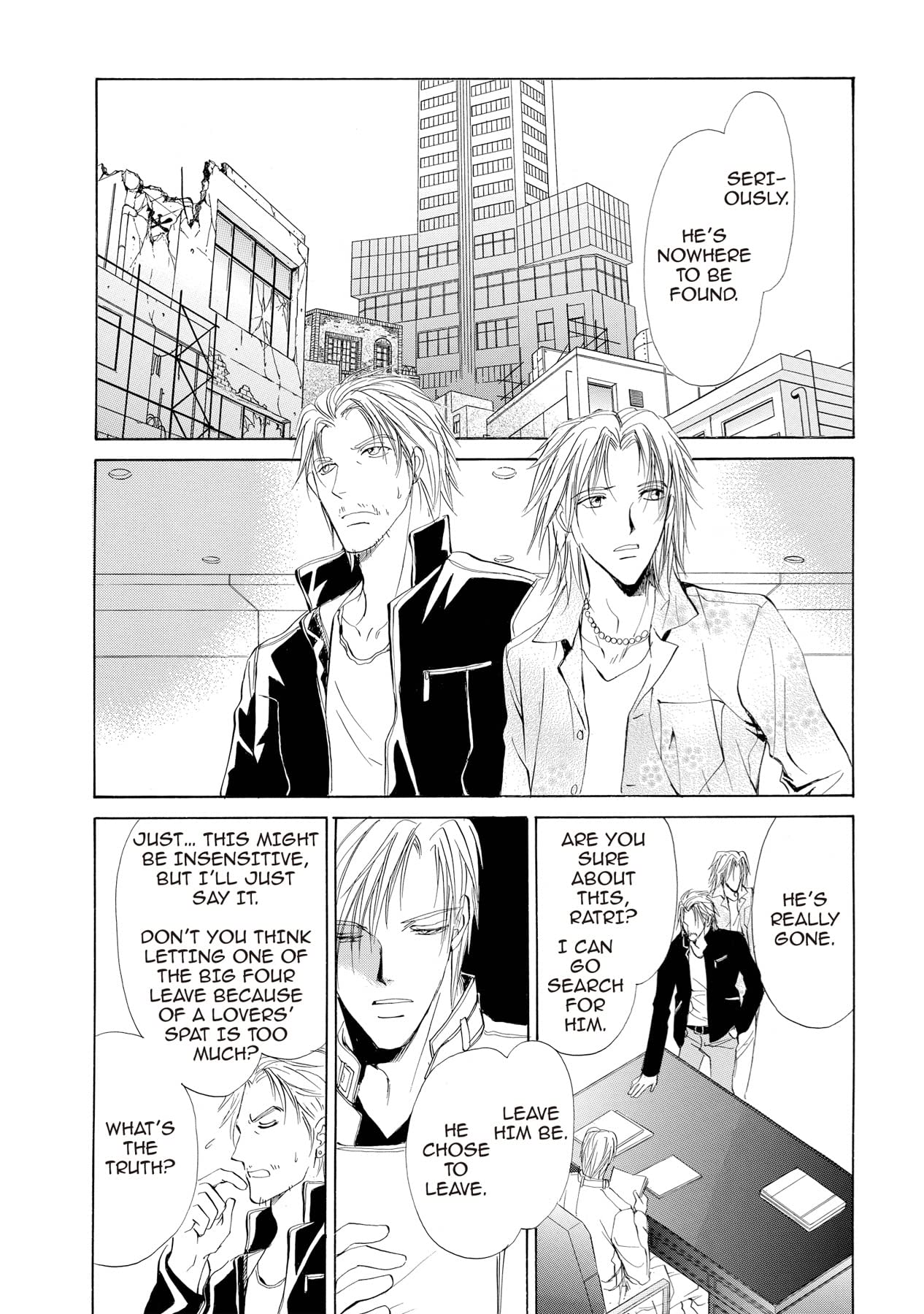 BLUE SHEEP'S REVERIE (Yaoi Manga) #11