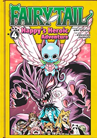 Fairy Tail: Happy's Heroic Adventure Tome 4