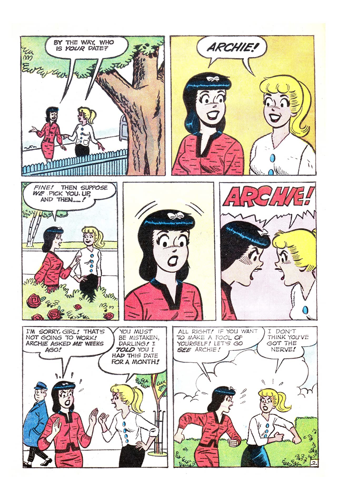 Archie's Girls Betty & Veronica #96