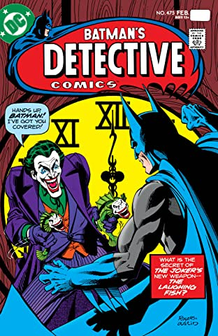 Detective Comics (1937-2011) No.475: Facsimile Edition (2020)