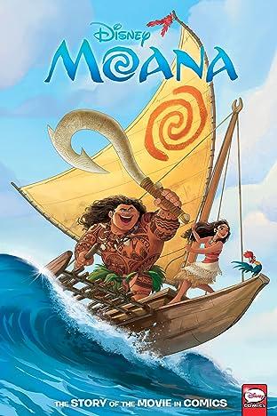 Disney Moana: The Story of the Movie in Comics