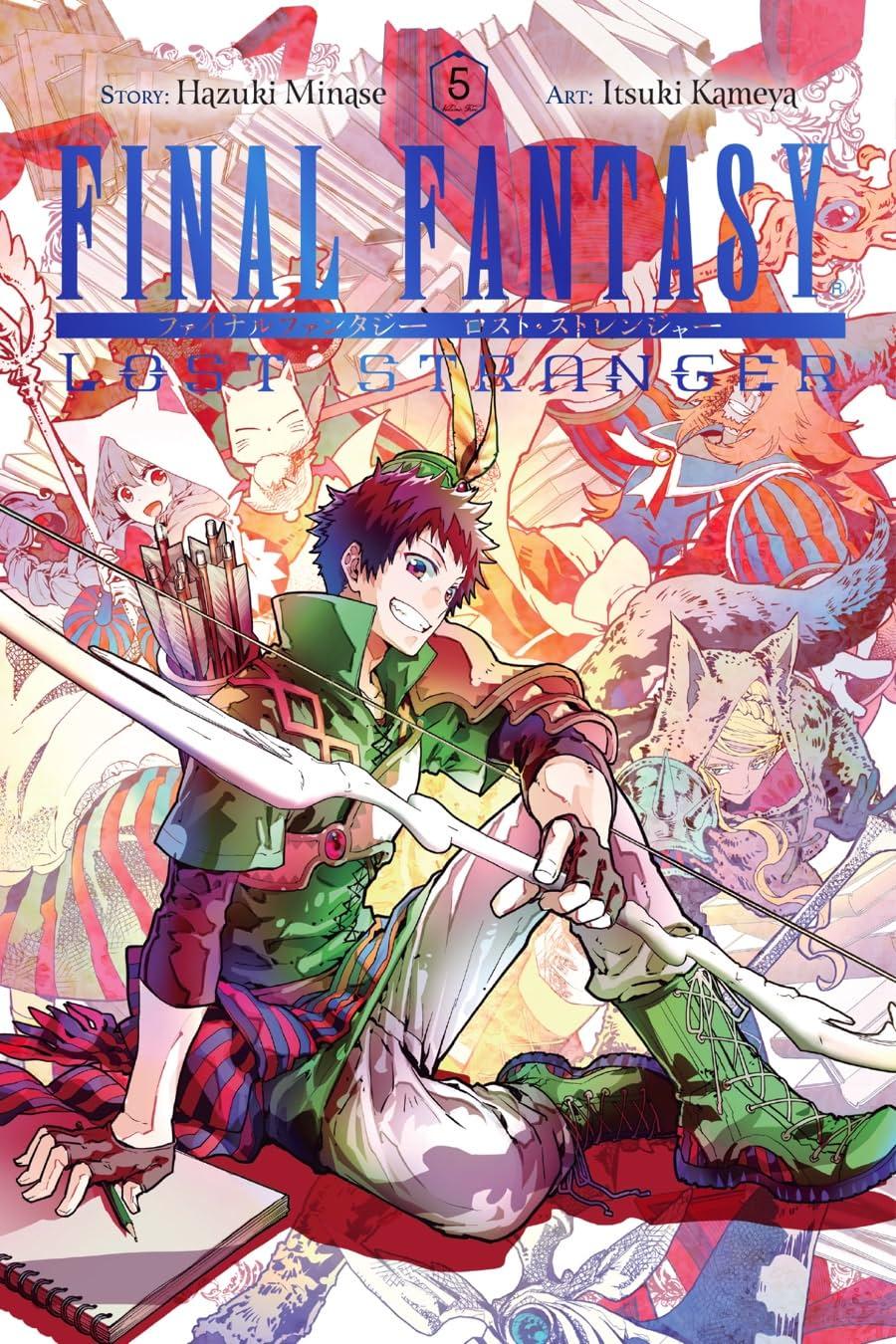 Final Fantasy Lost Stranger Tome 5