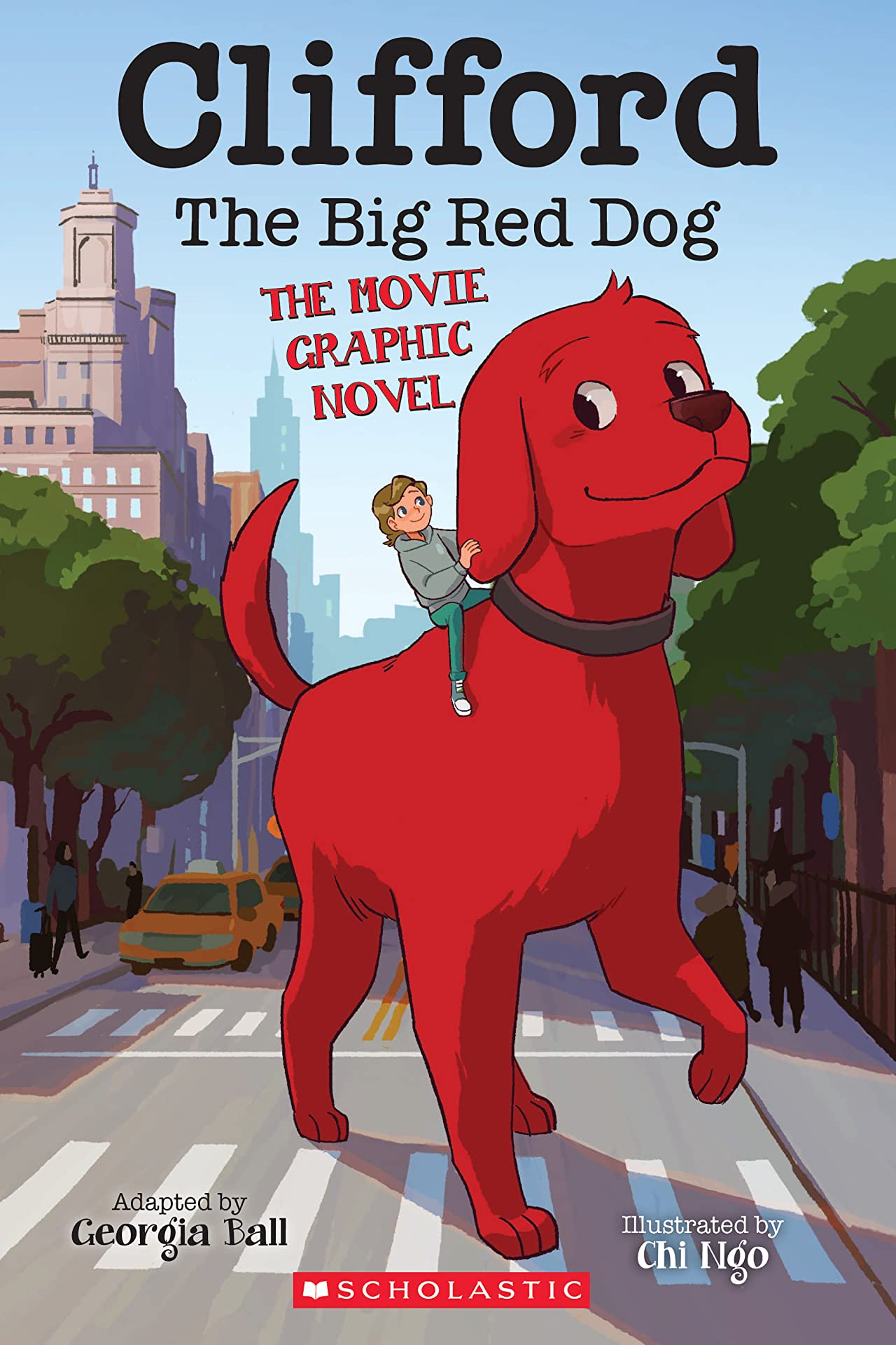 Clifford Movie Graphic Novel