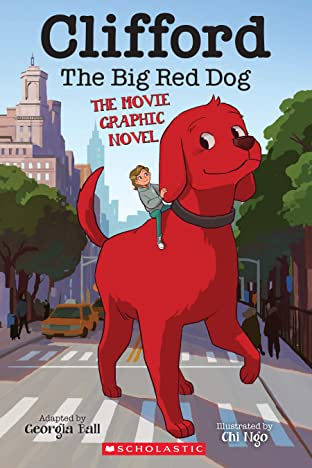 Clifford Movie Graphic Novel