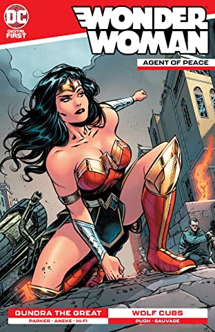 Wonder Woman: Agent of Peace No.6