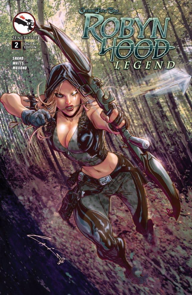 Robyn Hood #2 (of 5): Legend