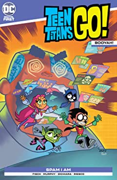 Teen Titans Go!: Booyah! #4