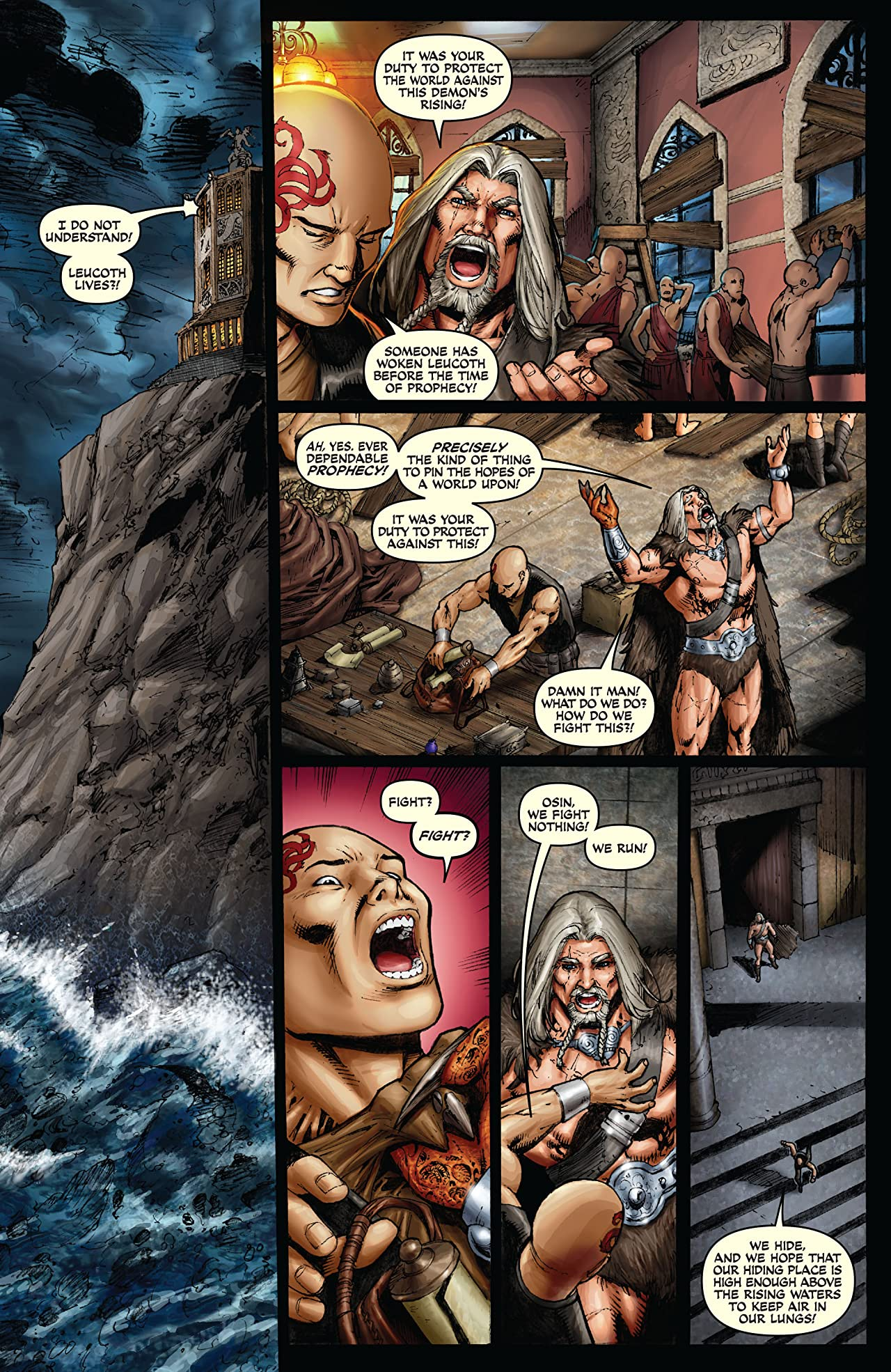 Red Sonja: She-Devil With a Sword #43