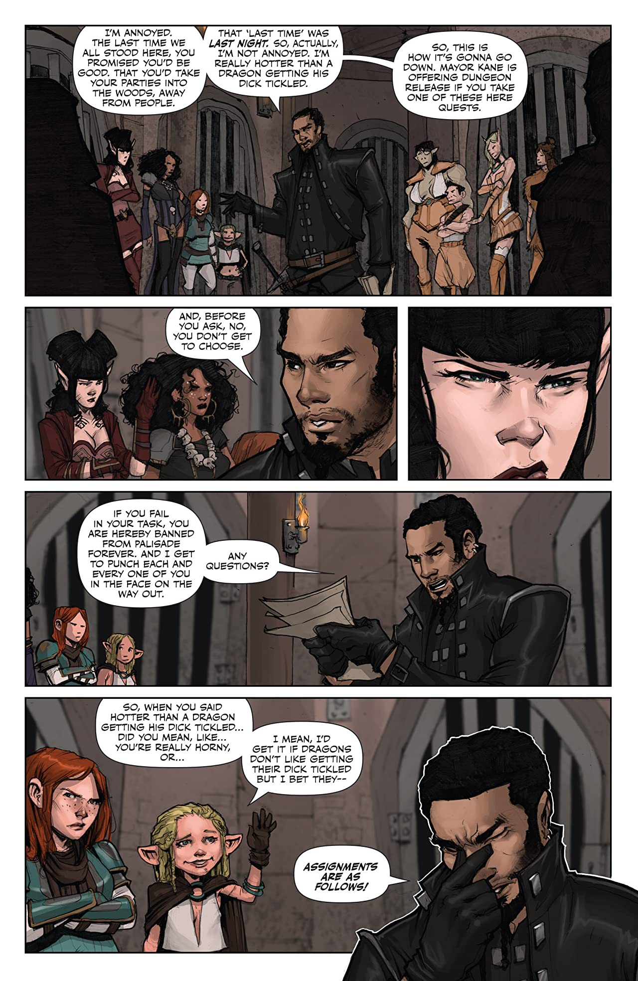 Rat Queens Vol. 1: Sass & Sorcery
