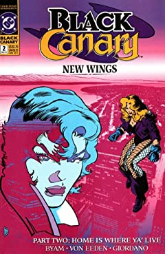 Black Canary (1991-1992) No.2