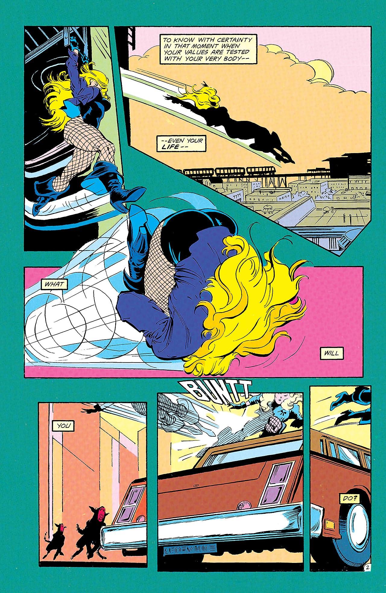 Black Canary (1993) #1