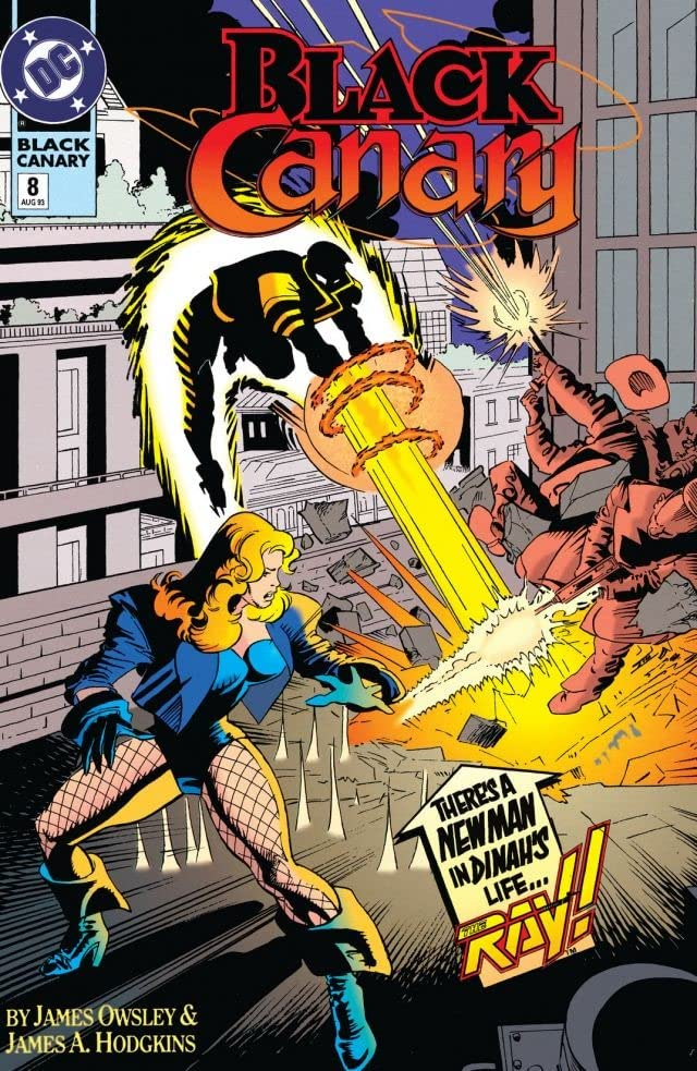 Black Canary (1993) #8