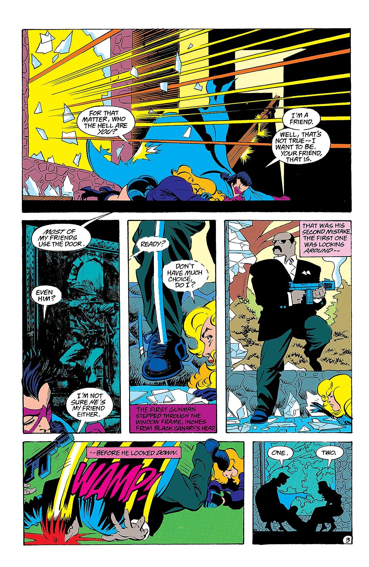 Black Canary (1993) #9