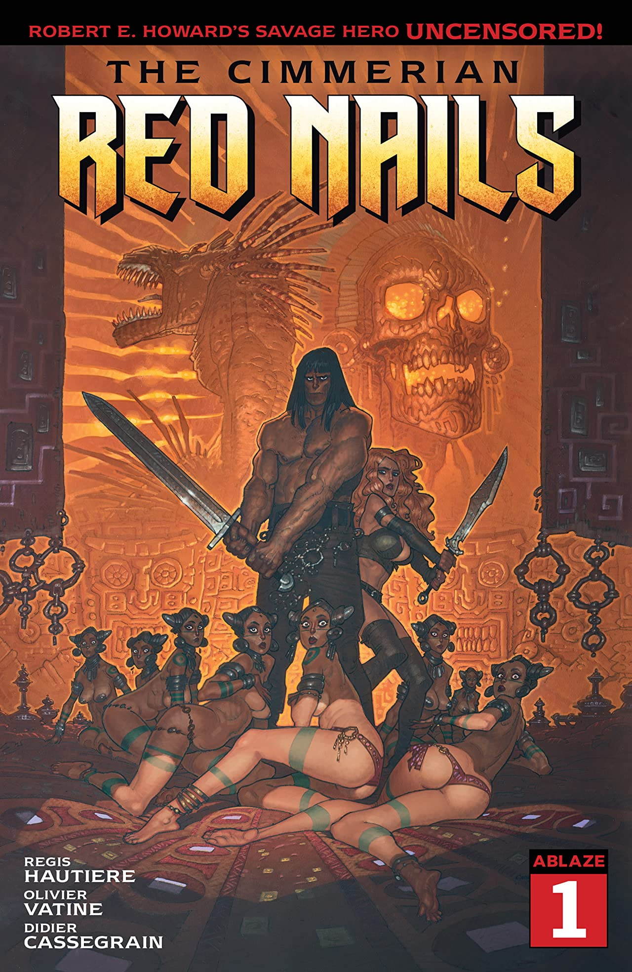 The Cimmerian #1: Red Nails