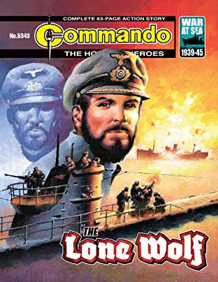 Commando #5343: The Lone Wolf