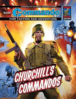 Commando #5345: Churchill's Commandos