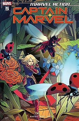 Marvel Action Captain Marvel (2019-2020) #5