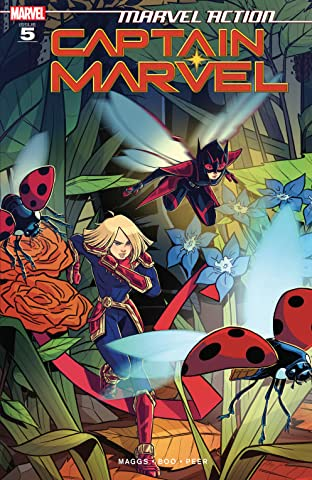Marvel Action Captain Marvel (2019-) #5