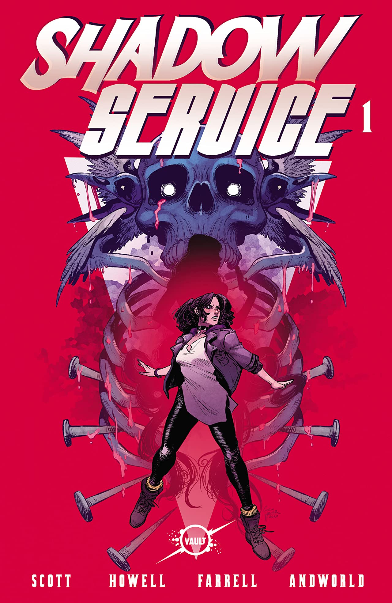 Shadow Service #1 - Comics by comiXology