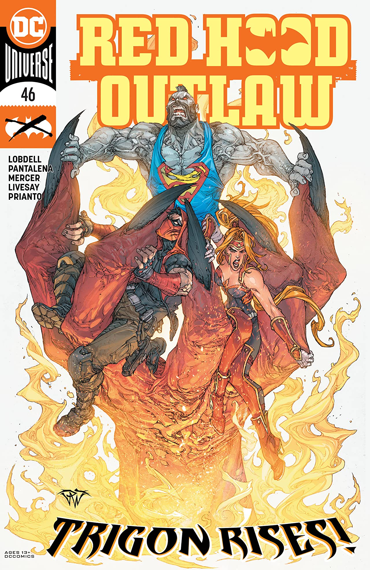 Red Hood: Outlaw (2016-) No.46