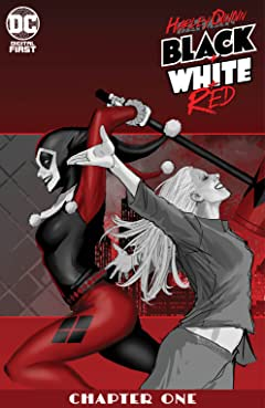 Harley Quinn Black + White + Red (2020-) No.1
