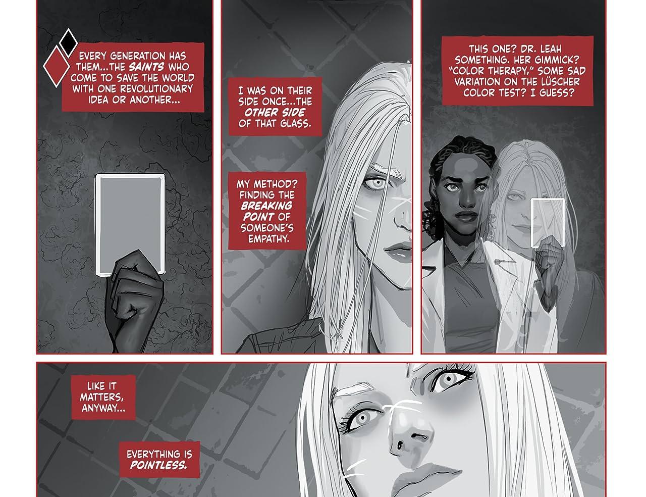 Harley Quinn Black + White + Red (2020-) No.1