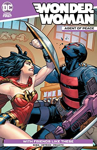 Wonder Woman: Agent of Peace No.7