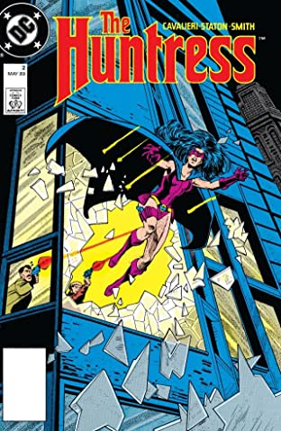 The Huntress (1989-1990) #2