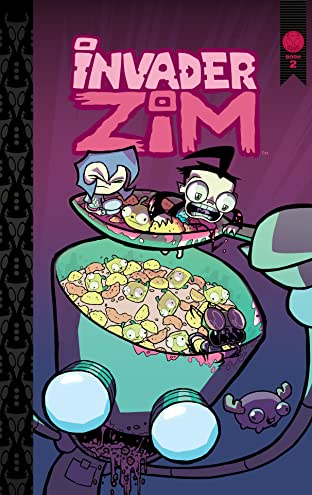Invader ZIM Tome 2: Deluxe Edition
