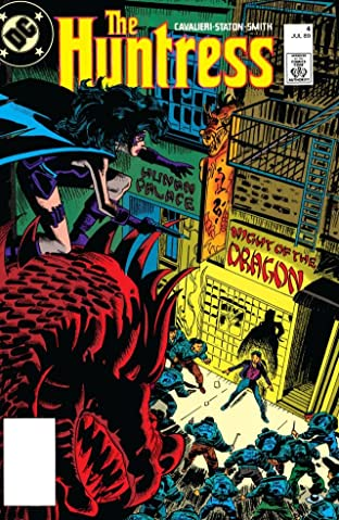 The Huntress (1989-1990) #4