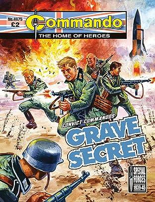 Commando #4675: Convict Commandos: Grave Secret