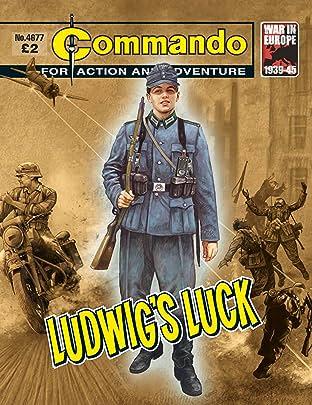 Commando #4677: Ludwig's Luck