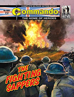 Commando #4691: The Fighting Sappers