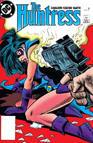 The Huntress (1989-1990) #6