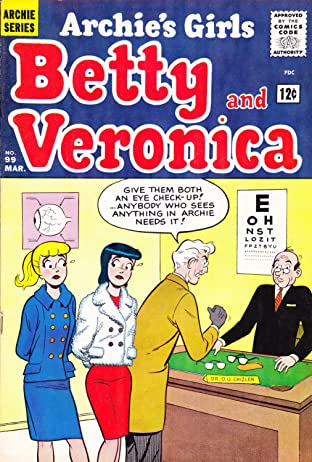 Archie's Girls Betty & Veronica No.99