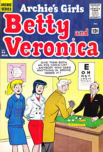 Archie's Girls Betty & Veronica #99