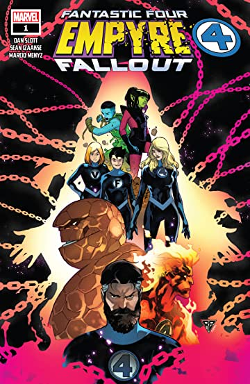 Empyre: Fallout Fantastic Four (2020) No.1