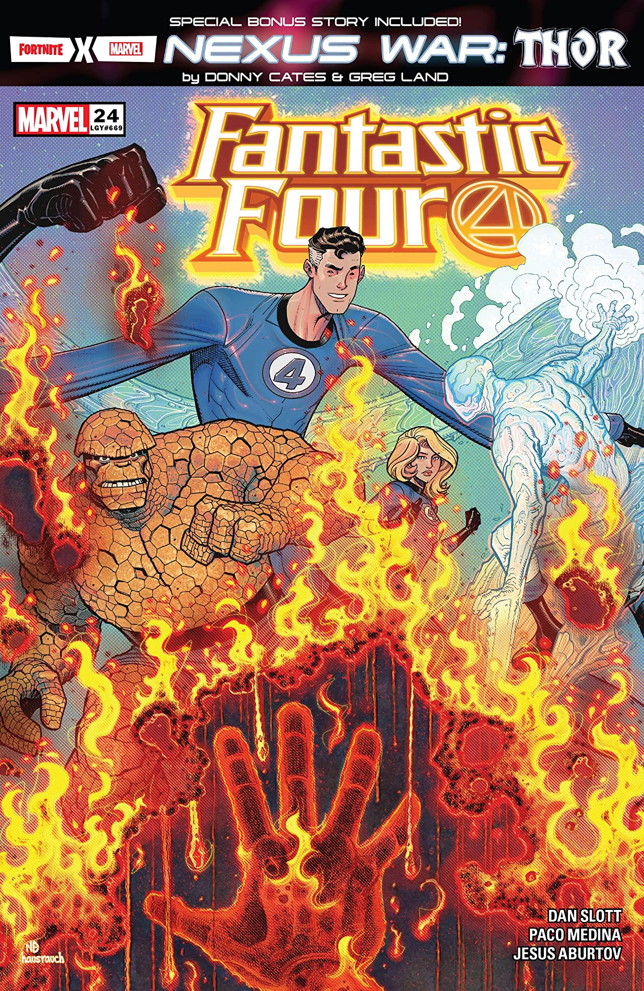 Fantastic Four (2018-) No.24