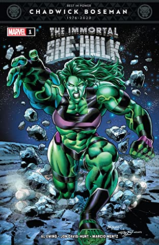 Immortal She-Hulk (2020) #1