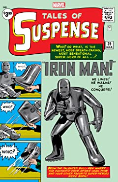 Tales of Suspense (1959-1968) #39: Facsimile Edition