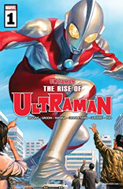 The Rise Of Ultraman (2020-) #1 (of 5)