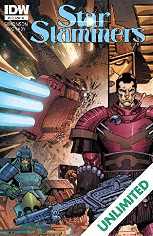 Star Slammers: Re-mastered! #2