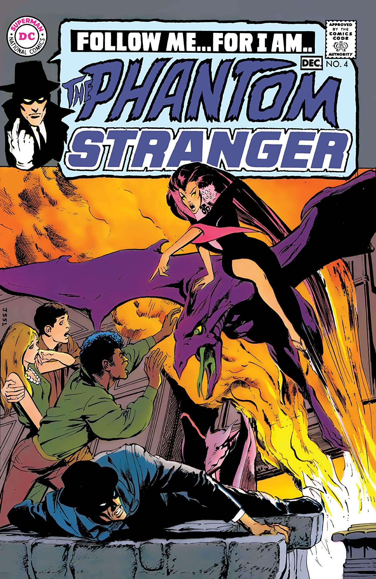 The Phantom Stranger (1969-1976) #4