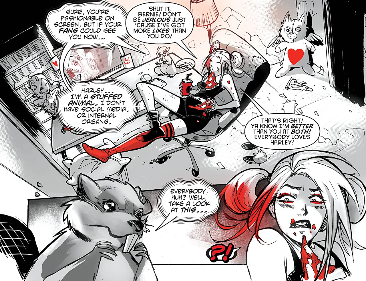 Harley Quinn Black + White + Red (2020-) #2