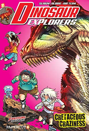 Dinosaur Explorers Tome 7: Cretaceous Craziness