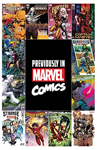 Previously In Marvel Comics Recap Guide No.1