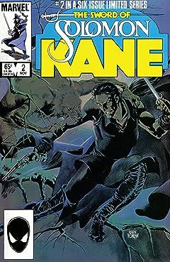Solomon Kane (1985-1986) #2 (of 6)