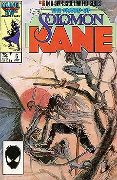 Solomon Kane (1985-1986) #6 (of 6)