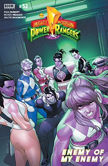 Mighty Morphin Power Rangers No.52